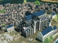 Building the Notre-Dame - screengrab Paris3D