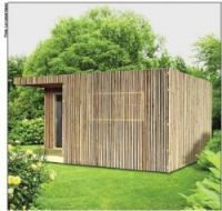 A french company has developed a new way for homeowners to offer living space in their garden