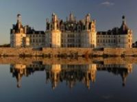 Chambord is situated in a massive woodland park
