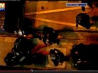 The arrest - screenshot from BFMTV