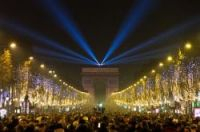 No fireworks and high security for shortened celebrations along the Champs-Elysées