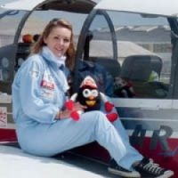 a plane when she was 10 – now she aims to take part in aerobatics competitions