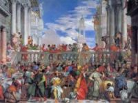 """Veronese's The Marriage at Cana is a """"notorious"""" example of  a painting that got damaged in France,"""