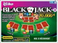 New scratchcards such as Blackjack