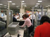 Airport security has been tightened on US-bound flights