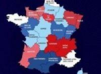 The original plan for the new-look map of France