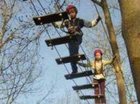 People hit on treetop pathways - Screengrab from Chloro'fil website