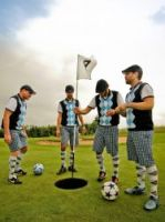 FootGolf can be played individually or in pairs