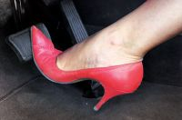Driving in high heels breaches France's highway code, a court has ruled