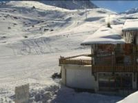Boost for skiers with new late-season snow Photo: Val Thorens ski station webcam
