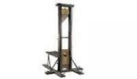 A guillotine failed to sell at auction in Nantes, France