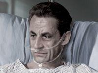 Sarkozy shown on his 'deathbed'