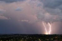 Storms batter south-west