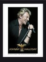 Stamp marks last tour by Hallyday