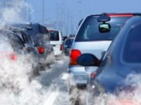 Traffic fumes are partly to blame