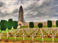 WWI marked at Verdun battlefield