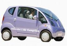 The small car that runs on thin air