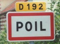 Poil has signs stolen