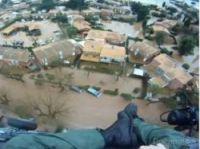 Marine Nationale rescues people at La Londe - Screengrab: Var-Matin