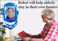 Trials are under way for an EU-funded home robotics system which could help keep people safe
