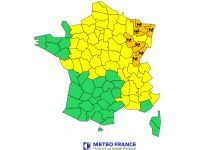 Orange flood alerts in north-east