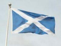Scottish Saltire - Photo: flickrtickr2009