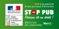 """The French government's """"Stop Pub"""" notice"""