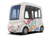 Driverless Vipa bus - Photo: Ligier