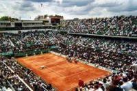 Centre court at Roland Garros