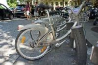A junior version of Paris's popular Vélib' cycle rental scheme was launched today