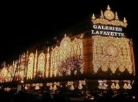What would you give to spend the night at Paris department store Galeries Lafayette?