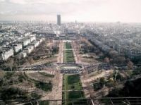 Paris basked in December sunshine