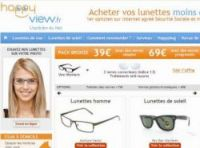 Online optician happyview.fr offers discounted pairs of glasses by post