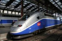 TGV was forced to stop outside Marseille