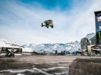See the video of Guerlain Chicherit's long jump bid