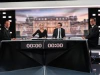 The debate was televised on both TF1 and France 2