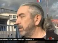 Gilles Format - screengrab from M6 news