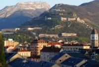 Sheep are roaming round the Bastille in Grenoble, thanks to the city's new mayor