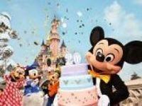 Mickey helps Disneyland Paris celebrate