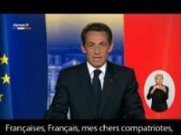 Sarkozy's televised New Year address attracted more than 10 million viewers