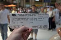 Man claimed it was his dream to check tickets on trains, after not getting the job, he did it anyway