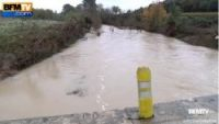 Cars swept away by rivers in Lozère and Gard, which had not been placed on orange weather alert