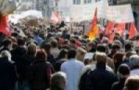 May Day demonstrators took to the streets of France