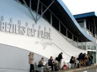 Airports forced to close - Photo: Beziers Airport