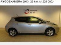 Nissan Leaf on Sandvika Bil website