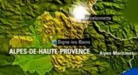 The epicentre of last night's quake