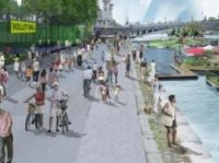 The mayor wants to 'reconquer' the banks for walkers