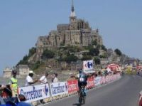 Mont-Saint-Michel hosted 2013 Tour stage finish - Photo: Jejecam CC BY-SA 3.0