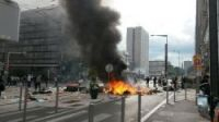 Banned pro-Palestinian protests turn violent in Paris