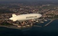 75m airship carries 12 passengers on first tourist flights around the capital